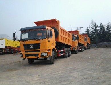 SHACMAN F2000 18cbm Dump Trucks 25t 6x4 290hp Diesel Tipper Truck