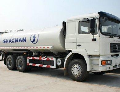 SHACMAN 15000L~18000L water tank truck