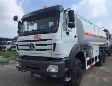 Power Star NG80 6X4 20,000 liters fuel tank truck