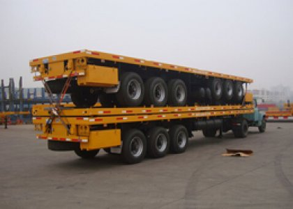 CIMC 3 axles container semitrailer