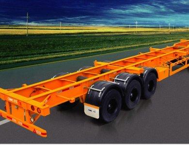 CIMC  3Axle 40 foot 12 lockers Container Semi-trailer