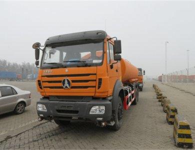 Beiben 6x4 20000L Water Tanker Truck in constructon
