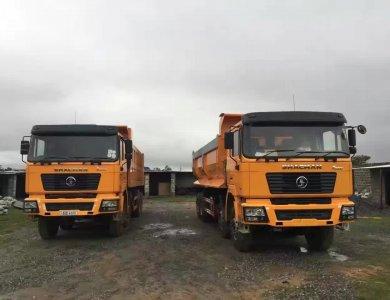 SHACMAN 12 Wheeler Dump Trucks F2000 8X4 WEICHAI Tipper Truck