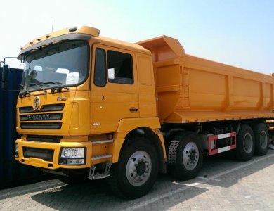 SHACMAN F3000 8x4 U Shape Truck Body Mining Dump Truck