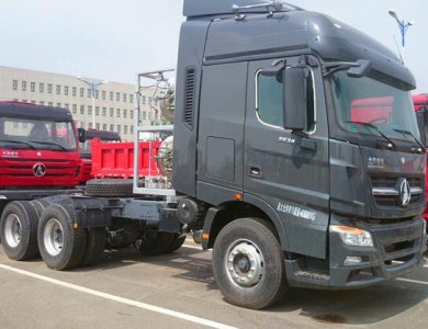 Beiben V3 6x4 420hp Euro 2 10 wheels Tractor Truck For Sale