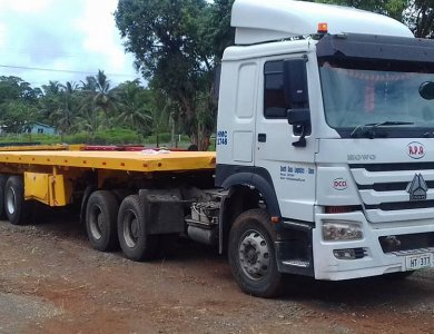 Kailai Flat Bed 4 Axles Semi Trailer for sale