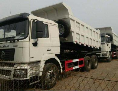 SHACMAN 6x4 Dump Truck Mining Use Bucket Minerals Transport Tipper