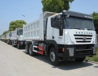 IVECO Genlyon  35T 6x4 340hp Dump Truck