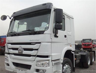 SINOTRUK HOWO 6x4 tractor trailer truck