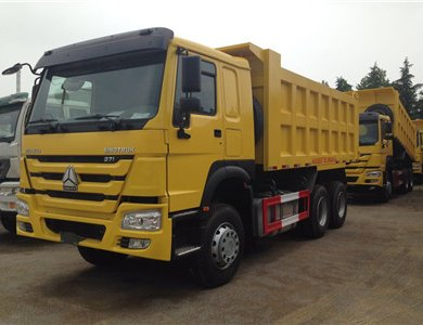New Sinotruk Howo 336hp dump truck in stock