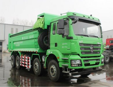 SHACMAN New M3000 Light Kerb Mass 8x4 Tipper Truck