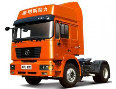 SHANQI D long F2000 Shacman 4x2 420hp Tractor Head