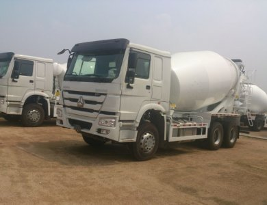 SINOTRUK HOWO 10 Wheel Concrete Mixer Truck Hot Sale