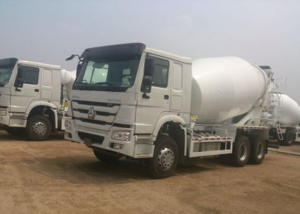 SINOTRUK HOWO 10 Wheel Concrete Mixer Truck Hot Sale