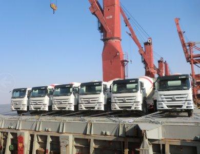 SINOTRUK 6x4 336hp Concrete Mixer Truck