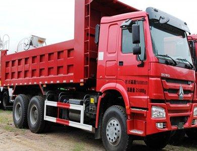Howo 371hp 6*4 Tipper truck