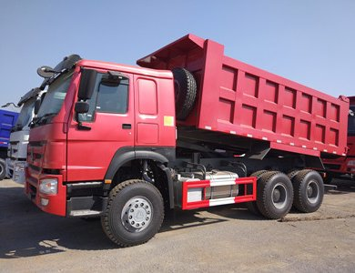 Sinotruk howo 371hp 10 wheel dump truck in stock