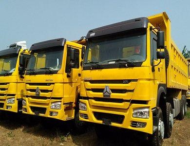 howo 50T  8*4  371hp dump truck