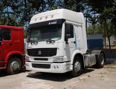 SINO HOWO7 4x2 371hp 6 Wheel Tractor Head Truck For Sale