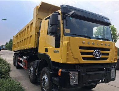 Iveco genlyon 12 wheel 40T dump truck