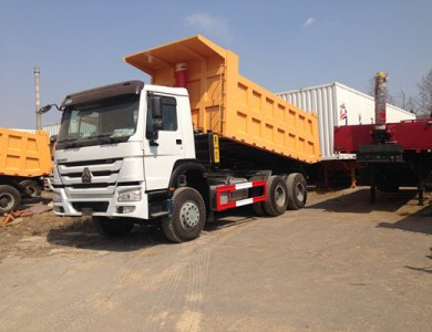Howo Sinotruk 371hp Mining Dump Truck Tipper Truck