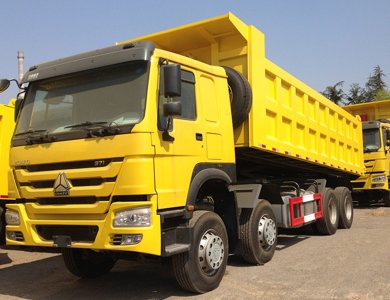 2020 new howo 12 wheel dump truck for sale