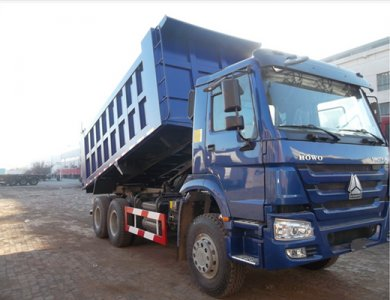 Engineering Vehicle Sinotruk HOWO 6x4 Mining Dump Truck