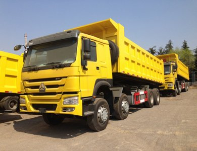 10wheel mining Howo dump truck for sale