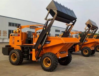 China 4WD 3Ton Self Loading Mini Dumper