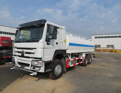 China Brand New Sinotruk HOWO 20000L Water Tank Truck for Sale