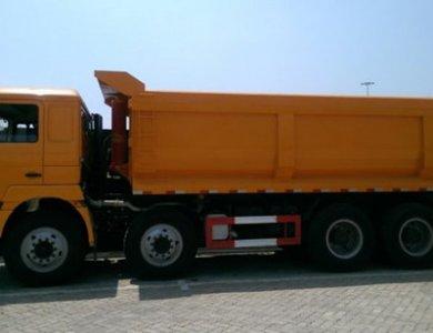 Sinotruk HOWO 8x4 U Shape Mining Tipper Truck 40-50 Ton