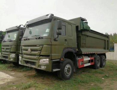 Sinotruk HOWO 6x4 Mining Dump Truck 371HP