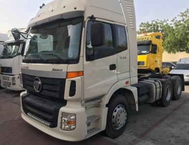 Foton 6x4 Tractor Truck/Trailer Truck 420hp with GCC