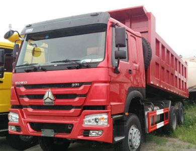 Sinotruk 371hp 10 wheel howo dump truck for Africa