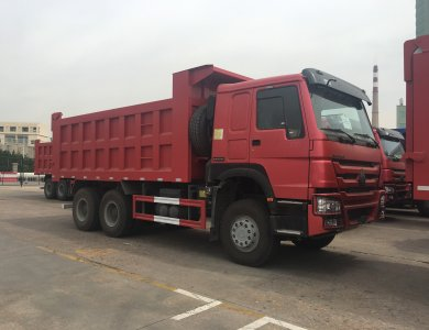 2020 new model hot sale howo tipper dump truck