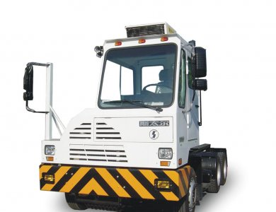 SHACMAN 6x4 Automatic Terminal Tractor