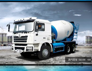 Shacman O long 6x4 Concrete Mixer Truck