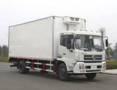 DONGFEN 4x2 Refrigerator truck van box Refrigerated truck