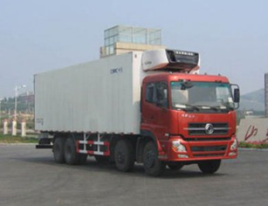 DONGFENG 8X4 Heavy duty Refrigerator Truck for sale