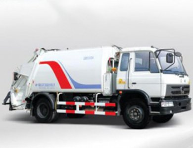 cummins dongfeng garbage compactor truck