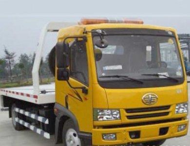 FAW light duty emergency wrecker truck