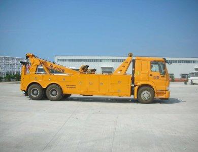 SINOTRUK HOWO 6x4 wrecker/ recovery truck