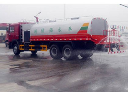 sinotruck howo water Tanker truck for sale