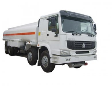 Stainless steel tank truck