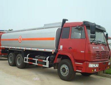 SHACMAN Fuel tank truck 6x4
