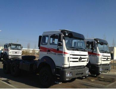 North Benz BEIBEN 6x4 WEICHAI Engine tractor truck head