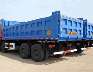 Beiben Brand New 12 Wheel Dump Truck Loading Capacity