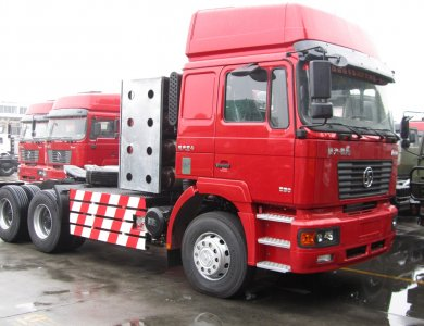 SHAANXI SHACMAN F3000 6X4 380HP CNG TRACTOR TRUCK
