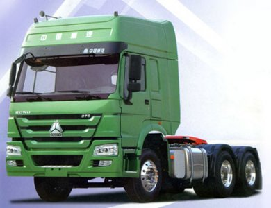 375hp Euro 3 Sinotruk HOWO 6x4 Tractor Truck Tractor Heads