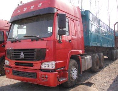 Sinotruk 420hp Tractor Truck 80T 100T Tractor Heads